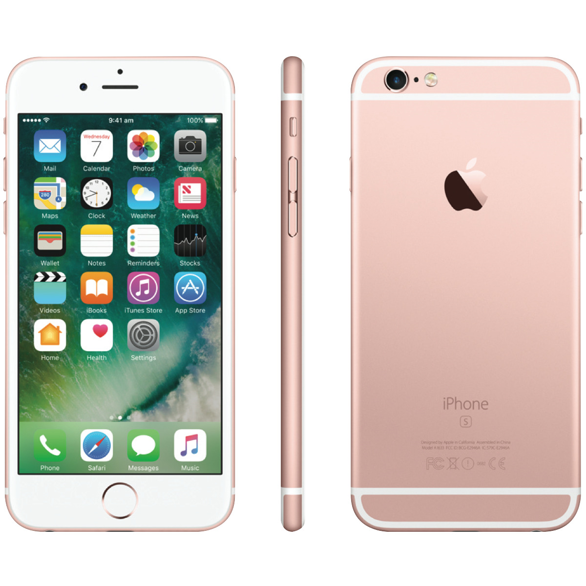 apple iphone 6s 16gb rose goud 5 sterren proresell. Black Bedroom Furniture Sets. Home Design Ideas