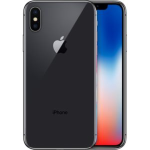 Apple iPhone X 256gb zilver 4 sterren
