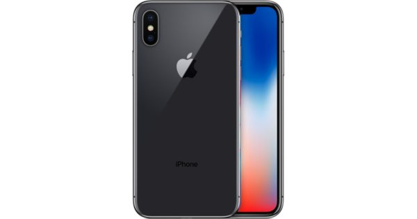 Apple iPhone X 256gb zwart 5 sterren