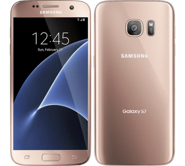 Samsung Galaxy S7 32gb pink gold 3 sterren