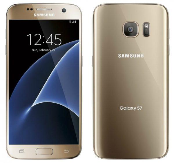 Samsung Galaxy S7 goud 32gb 4 sterren