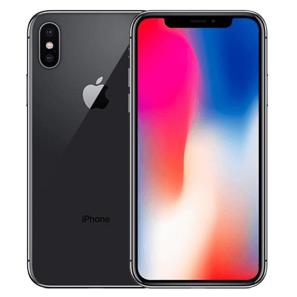 Apple iPhone X 64GB zwart 4 sterren