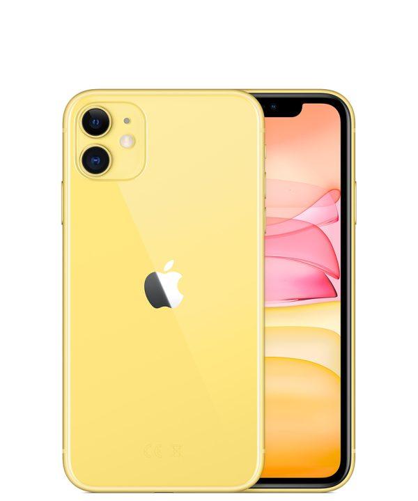 Nieuwe iPhone 11 – 64GB – Geel – 1 jaar Apple garantie