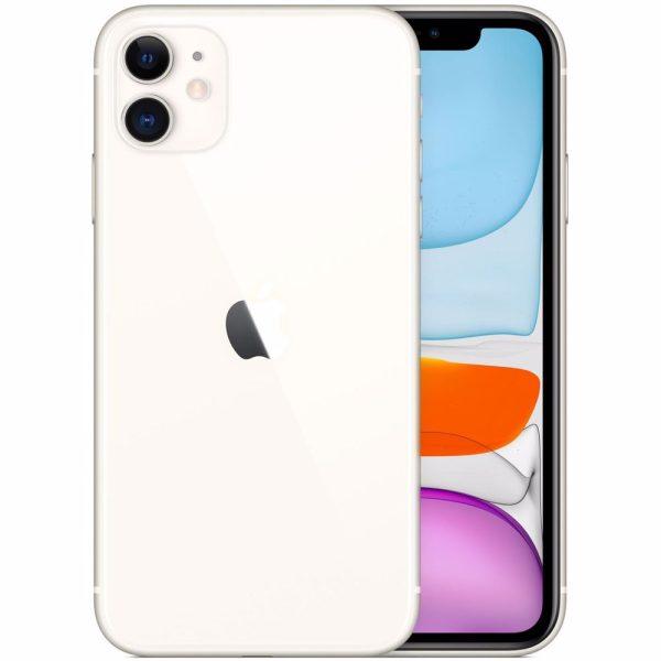 Nieuwe iPhone 11 – 64GB – Wit – 1 jaar garantie