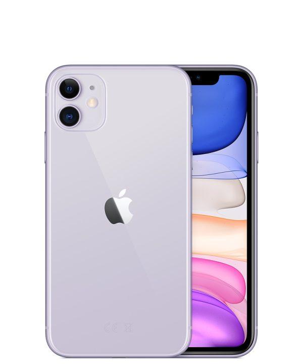 Nieuwe iPhone 11 – 64GB – Paars – 1 jaar garantie