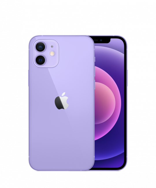 Nieuwe iPhone 12 128GB – 1 jaar Apple Garantie – Paars