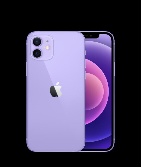 Nieuwe iPhone 12 128GB - 1 jaar Apple Garantie - Paars